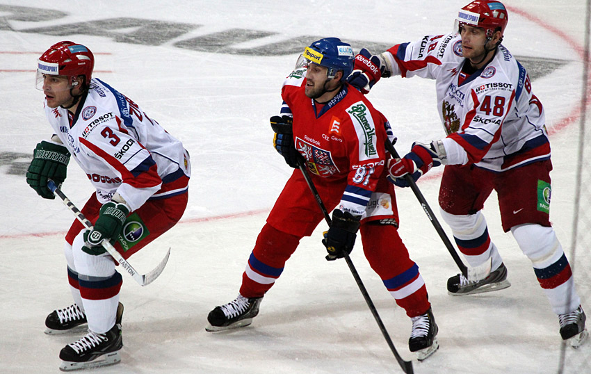 Na závěr turnaje zdolali Češi Rusko po nájezdech!