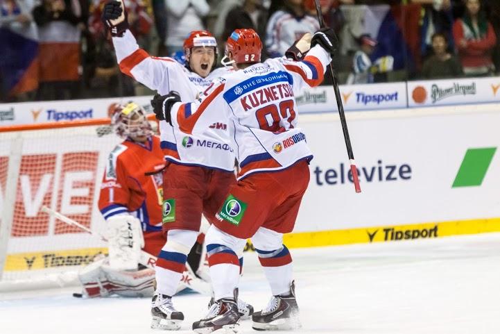 V zápase plném zvratů byli šťastnější Rusové