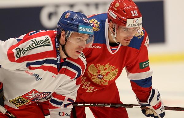 RUS - CZE 4:2: Ani třetí utkání Švédských her Češi nezvládli, podlehli i Rusku