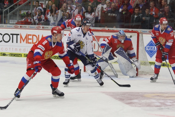 RUS–FIN  0:1 – Finům stačil k vítězství jen jeden gól