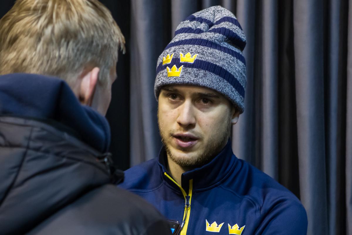 Cenný gól i výhra, hodnotí duel s Ruskem Michael Lindqvist