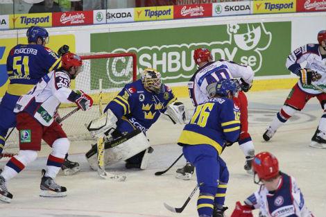 Rusové díky povedenému závěru druhé třetiny získali skalp Švédů