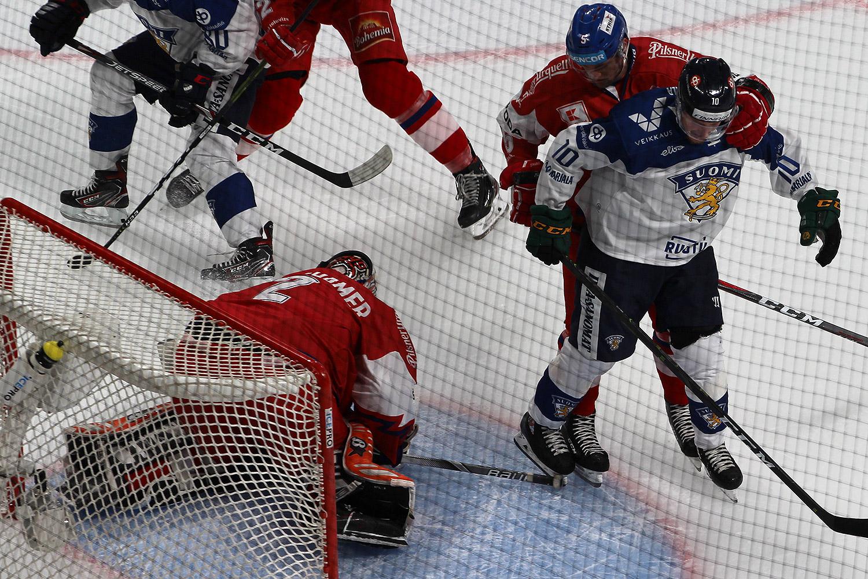 Češi porazili také Finsko, o vítězství v nájezdech rozhodl Krejčík