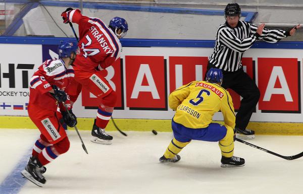 CZE - SWE 1:3: Český tým v úvodu Švédských her podlehl domácímu výběru, korigoval až v závěru