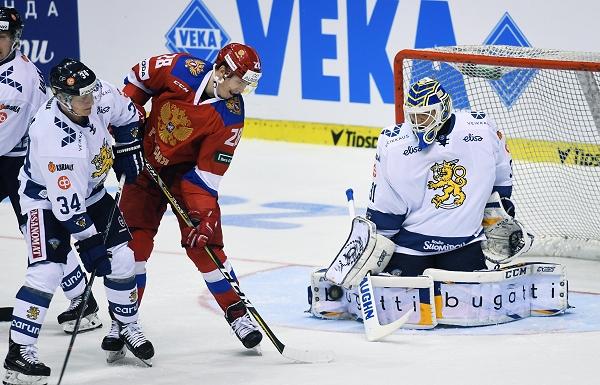 RUS – FIN 1:2: Finové zdolali Rusko a rozhodli, že Češi obhájili zlato na turnaji