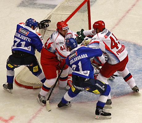 České hokejové hry v Karlových Varech, utkání Finsko - Rusko