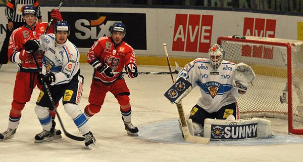 Česko - Finsko 0:7