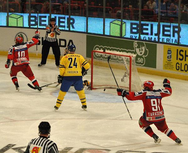 Švédsko – Rusko 4:1